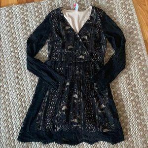 Target NWT mesh lace dress